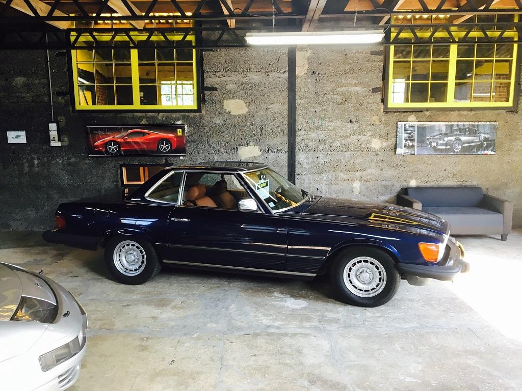Mercedes 380SL