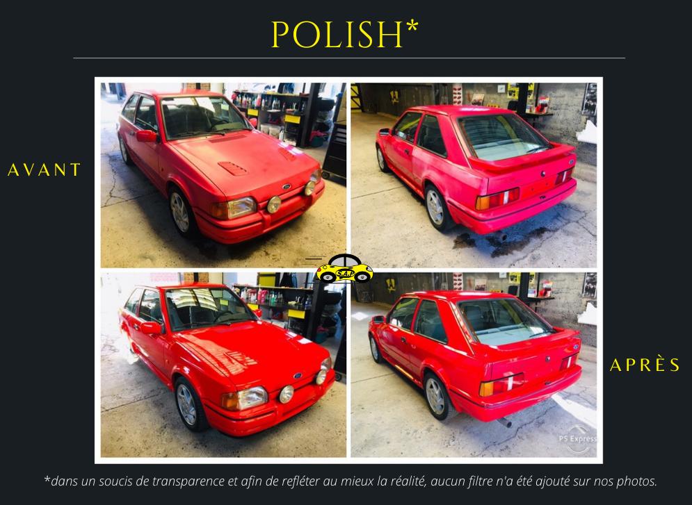 Polish Ford Escort RS Turbo
