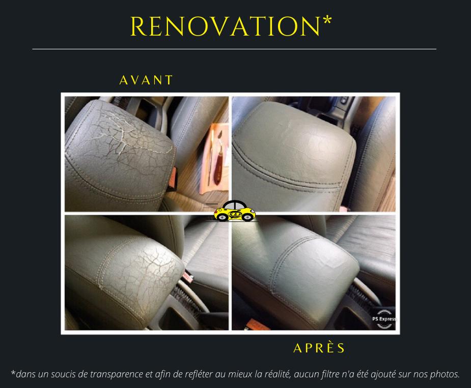 Rénovation cuir Renault Laguna