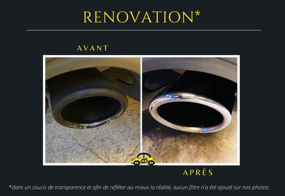 Rénovation pots d'échappements avant Audi A6