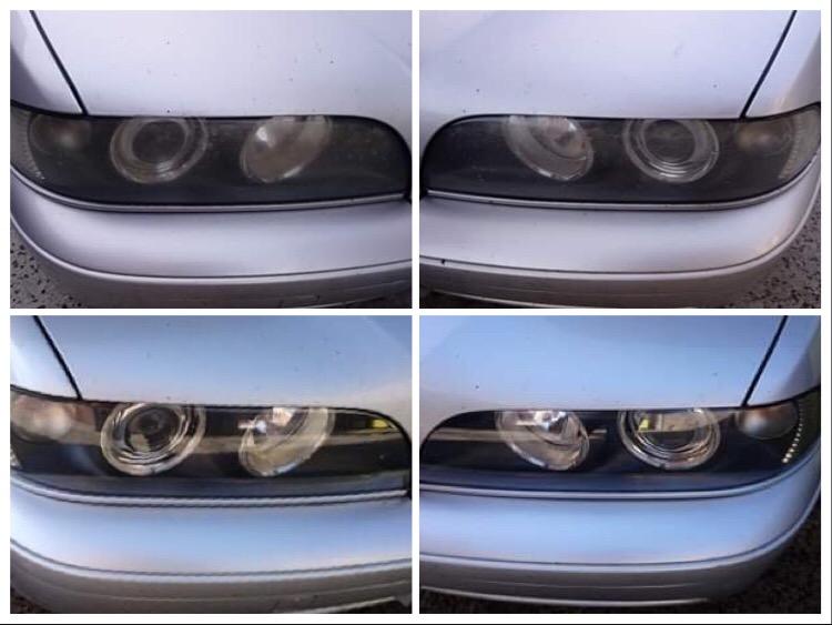 Avant/Après BMW série 5