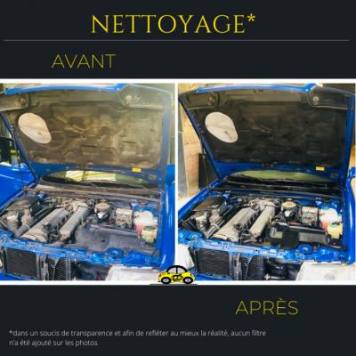 Nettoyage compartiment moteur Audi RS2