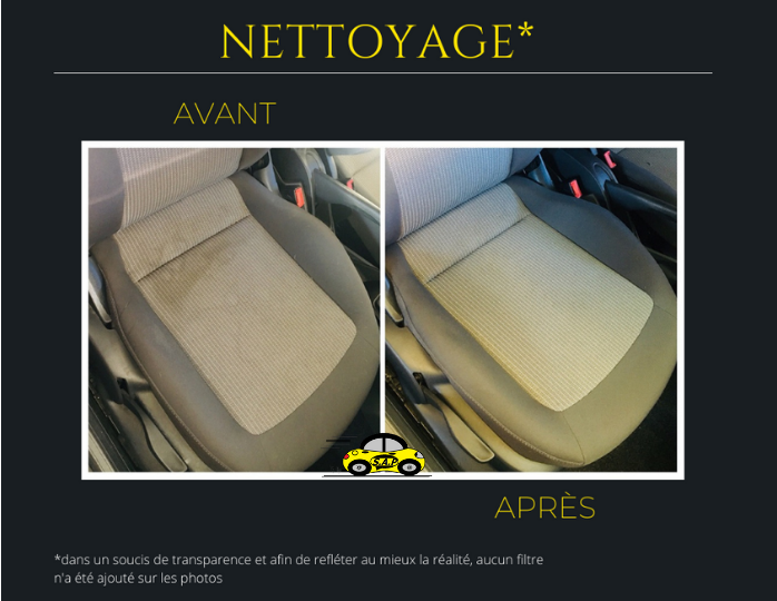 Nettoyage de siège
