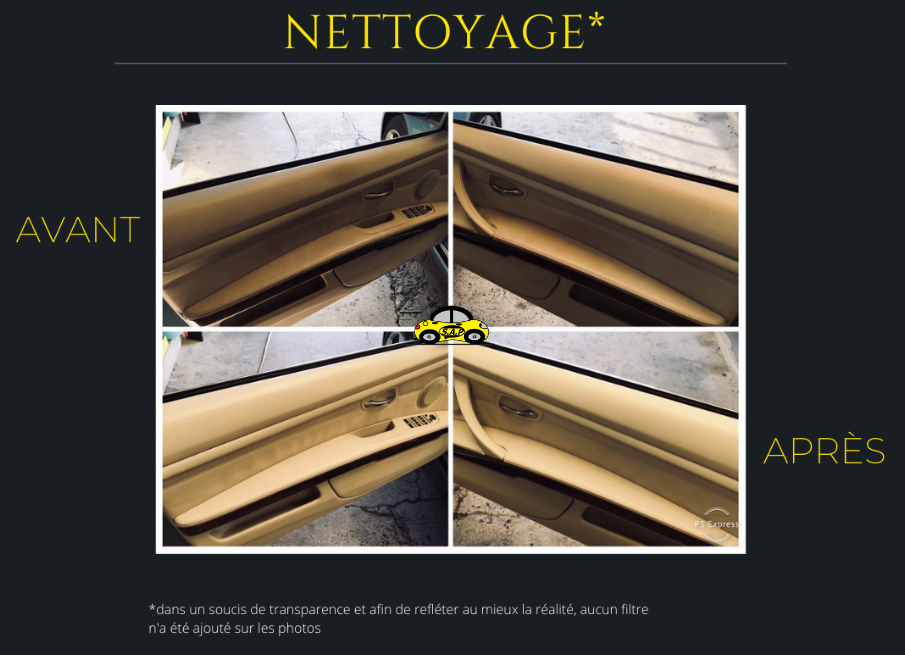 Nettoyage BMW série 3 e93