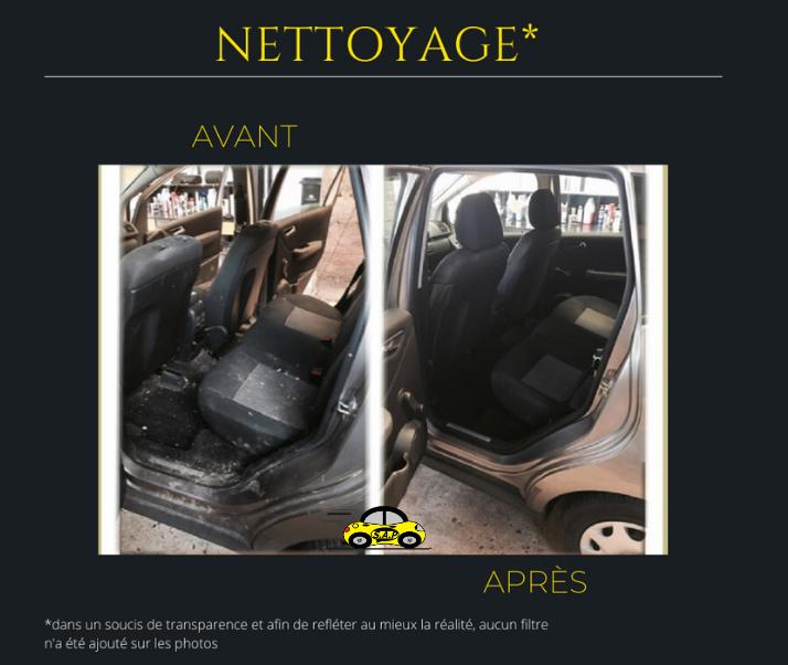 Nettoyage intérieur (sans nettoyage des textiles)