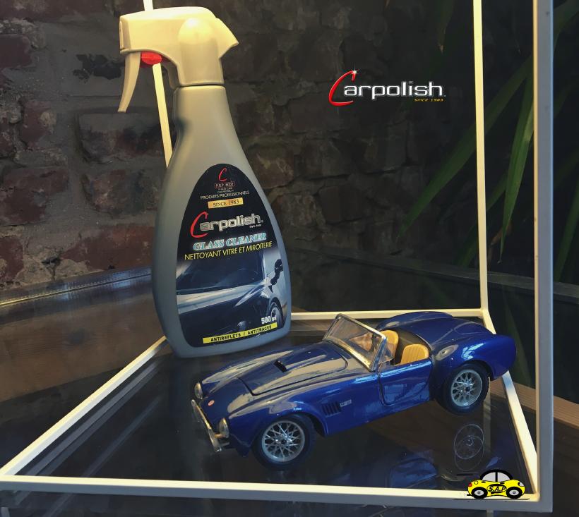Carpolish glass cleaner